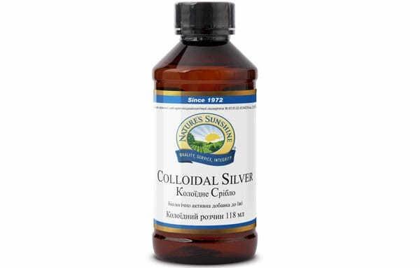 Colloidal Silver NSP • Коллоидное Серебро НСП - препарат (бад к пище), природный антибиотик производства США