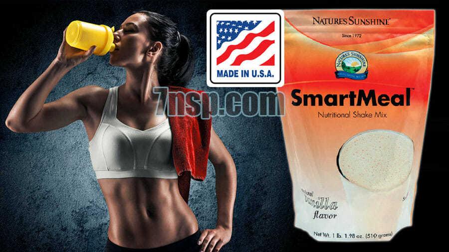 Смарт Мил - протеиновый (белковый) ванильный коктейль для похудения, цена