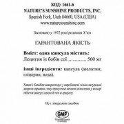 Lecithin NSP ★ Лецитин НСП в капсулах - препарат (бад) производства США. Цена.
