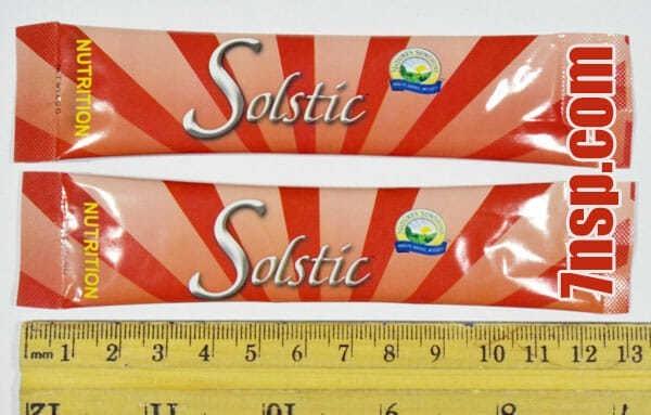 Пакетики сухого растворимого в воде витаминно-минерального напитка Solstic Nutrition ★ Солстик Нутришн