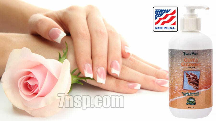Натуральное жидкое мыло - мягко очищающее средство для рук. Цена
