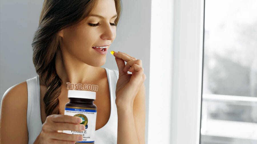 Витамин Е в капсулах компании НСП