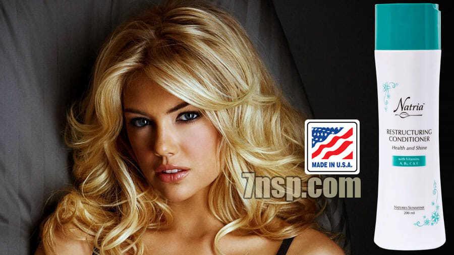 Восстанавливающий, увлажняющий, несмываемый кондиционер для волос с витаминами А, В5, С и Е от НСП, цена, купить