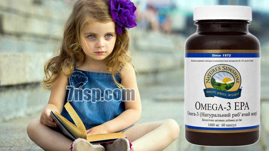 Омега-3 полезно для интеллектуального развития малышей
