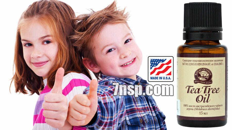 Применение масла чайного дерева для детей