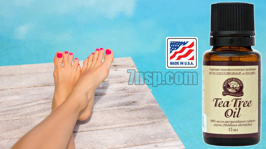 Применение 100 масла чайного дерева для кожи ног