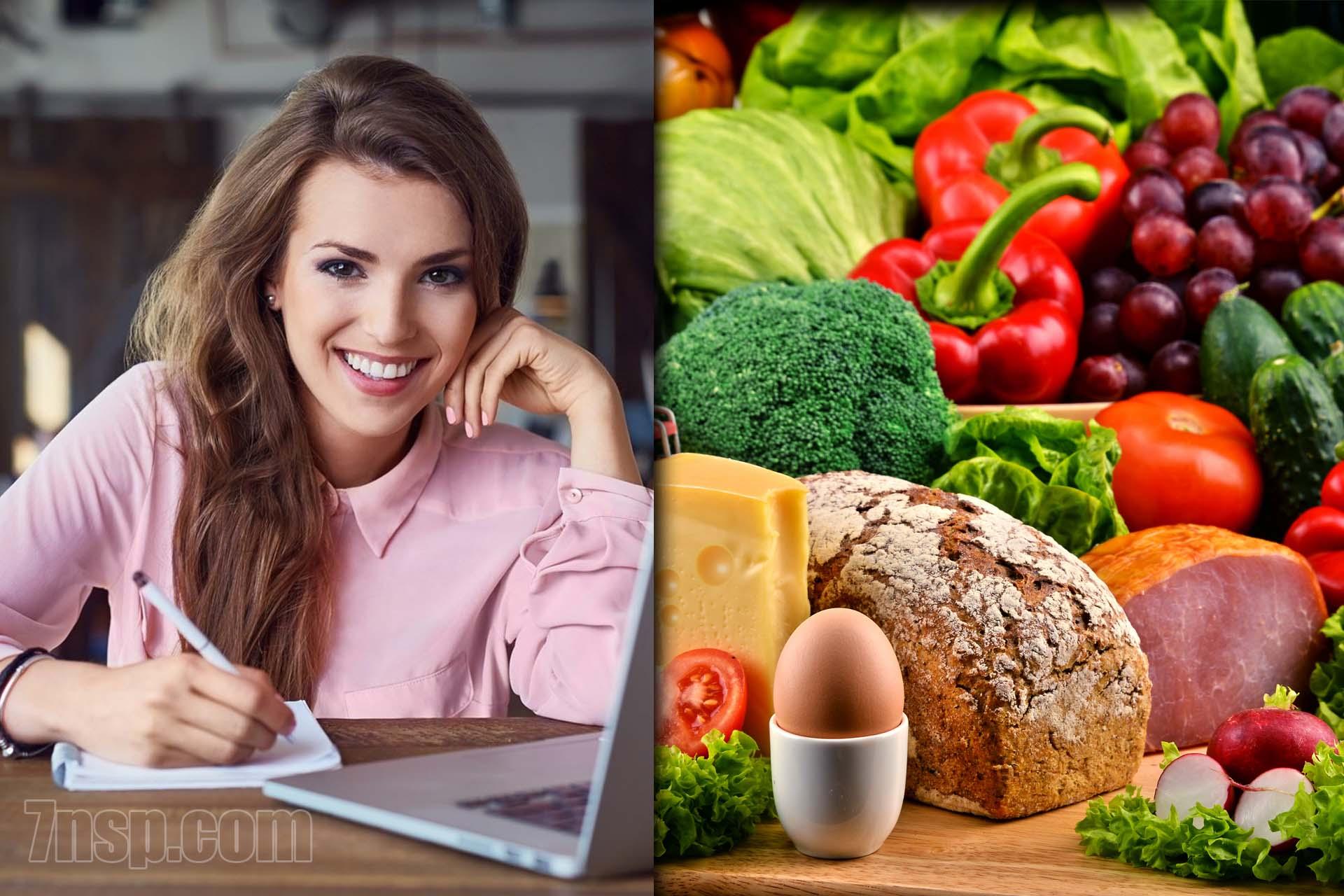 Дневник (журнал) питания для правильного похудения, образец дневника