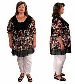 Результаты, отзывы похудения фото женщин до и после программы коррекции веса диеты НСП, Киев, Харьков, Одесса