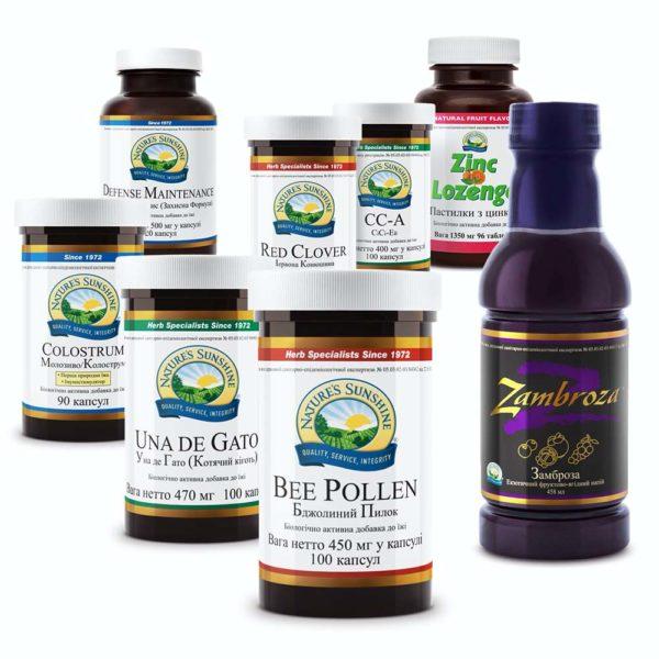 Бад НСП в наборе Стоп простуда, схема приема, профилактика простудных заболеваний натуральными препаратами