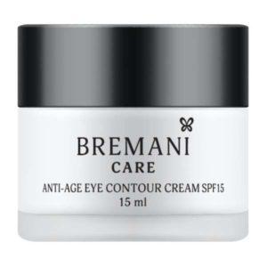 Антивозрастной крем для кожи вокруг глаз с SPF15 косметика Бремани