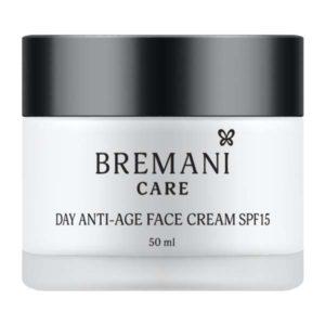Дневной антивозрастной крем кожи лица SPF15 косметика Бремани